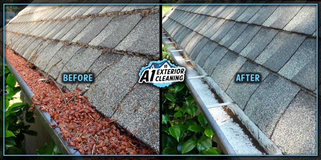 Full gutters are inefficient gutters. Regular cleaning prevents a host of water drainage issues.