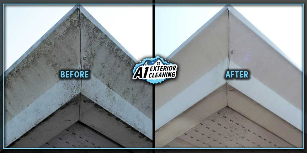 Overflowing gutters can discolour and stain the facing of your gutter tracks.