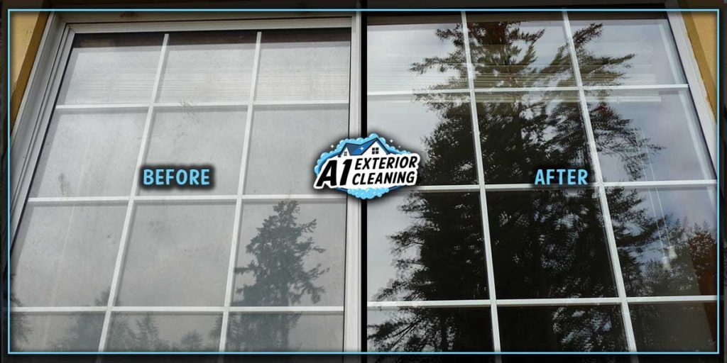 Freshly washed windows help to increase curb appeal. It's a small detail that makes a big difference.